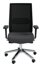 Picture of Iulius Task Chair (Black & Aluminium)